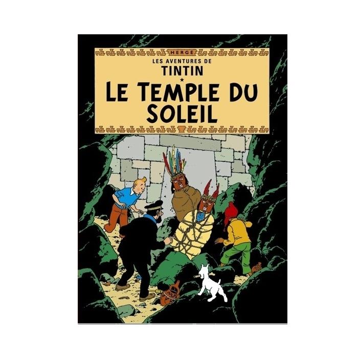 Postal del álbum de Tintín: El templo del sol 30082 (15x10cm)