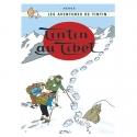 Postal del álbum de Tintín: Tintín en el Tíbet 30088 (10x15cm)