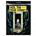 Postal del álbum de Tintín: Vuelo 714 para Sídney 30090 (10x15cm)