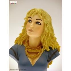 Figura busto de colección Attakus Thorgal Aaricia B417 (2009)
