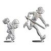 Figurines de collection Les étains de Virginie Johan et Pirlouit (2016)