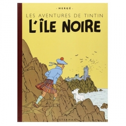 Tintin album: L'île noire Edition fac-similé colours 1943