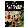 Póster Moulinsart álbum de Tintín: Aterrizaje en la luna 22160 (70x50cm)