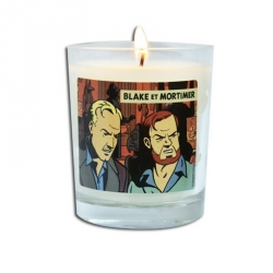Vela perfumada al fuego de leña Blake y Mortimer La Marca Amarilla BM143 (180g)