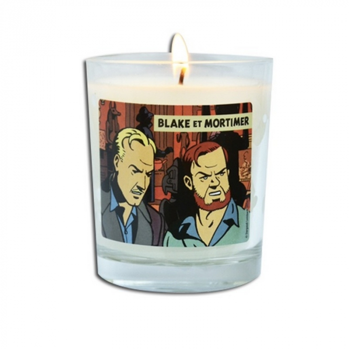 Wood fire perfumed candle Blake and Mortimer The Yellow Mark BM143 (180g)