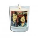 Bougie parfumée au feu de bois Blake et Mortimer La Marque Jaune BM143 (180g)