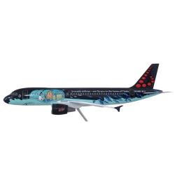 L'avion Airbus Air Brussels A320 Rackham de Tintin 1/25 Moulinsart 29665 (2016)