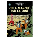 Postcard Tintin Album: Explorers on the Moon 30085 (10x15cm)