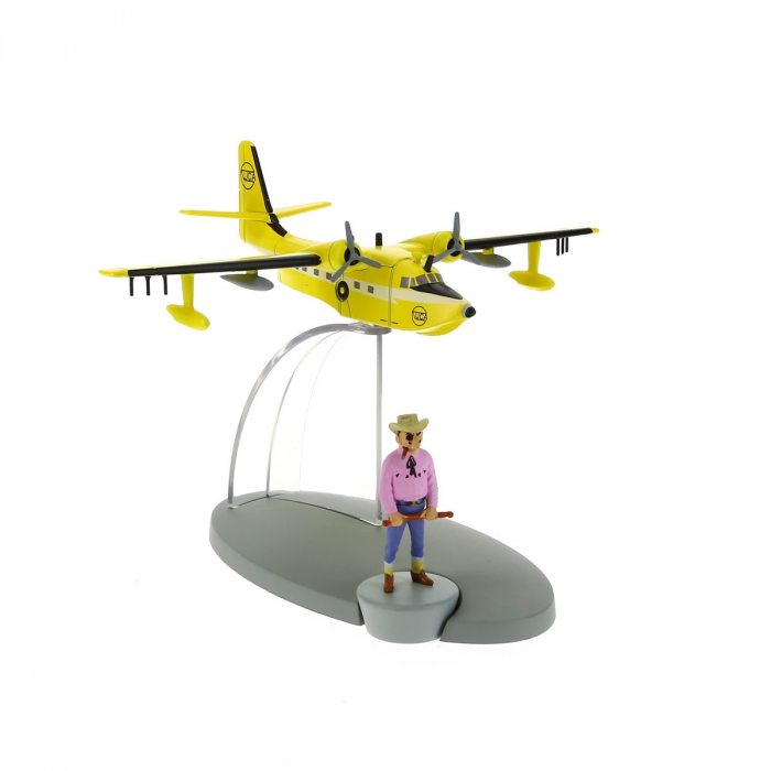 Figurine de collection Tintin L'hydravion Australien 29552 (2015)