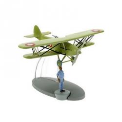 Figura de colección Tintín El avión de caza Árabe Nº33 29553 (2016)