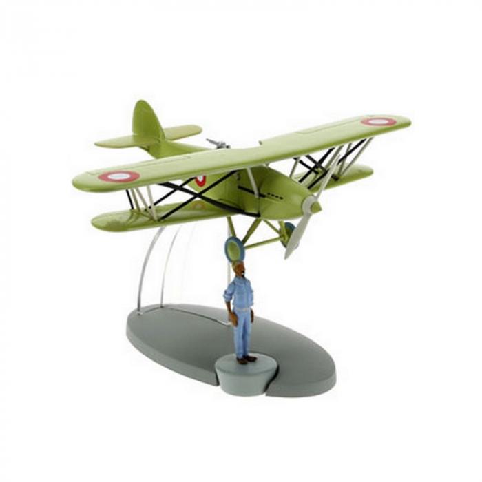 Figurine de collection Tintin L'avion de chasse Arabe 29553 (2016)