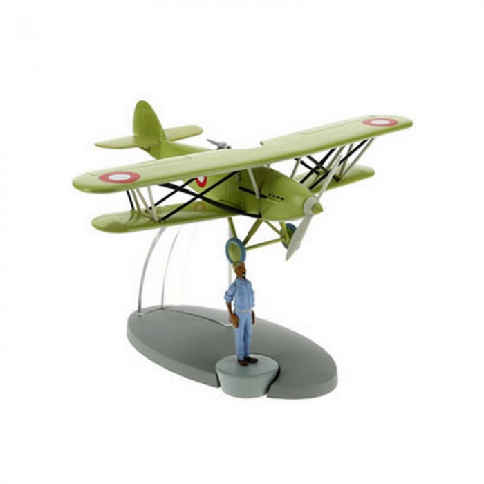 Tintin Figure collection The Arab fighter plane 29553 (2016)