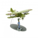 Figurine de collection Tintin L'avion de chasse Arabe Nº33 29553 (2016)