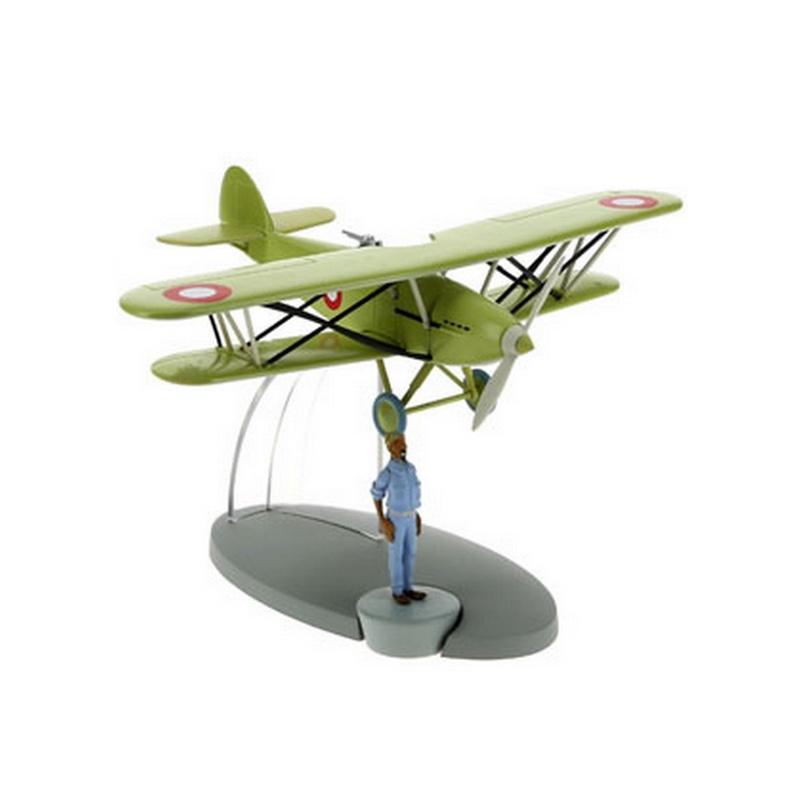 Tintin Figure collection Counterfeiters/' plane Black Island Nº18 29538 2014