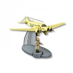 Figura de colección Tintín El avión de la Sabena 00-AGY Nº34 29554 (2016)