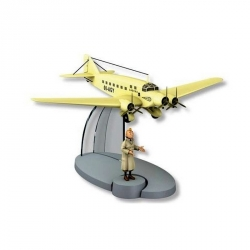 Figurine de collection Tintin L'avion de la Sabena 00-AGY Nº34 29554 (2016)