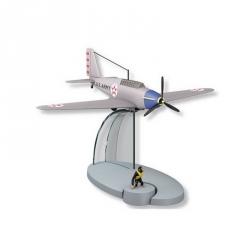Figurine de collection Tintin L'avion américain Jo et Zette Nº35 29555 (2016)