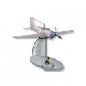 Figura de colección Tintín El avión Americano  Jo y Zette Nº35 29555 (2016)