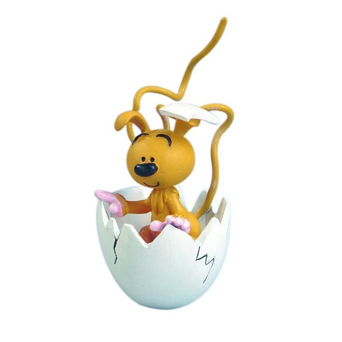 Figurine tirelire de collection Plastoy: Le bébé Marsupilami 80018 (2013)