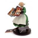 Figurine de collection Plastoy: Bécassine tenant une pile d'albums 00414 (2016)