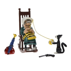 Figura de colección Pixi: Ma Dalton tricotando Lucky Luke 5458 (2002)