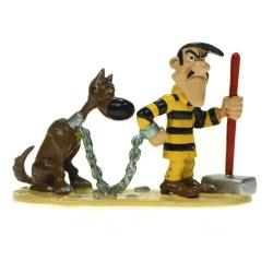 Figura de colección Pixi Lucky Luke Joe Dalton con Rantanplan 5461 (2003)