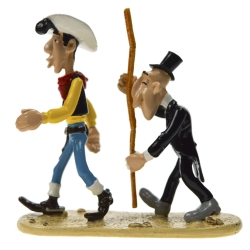 Figurine de collection Pixi Le croque-mort mesurant Lucky Luke 5464 (2004)