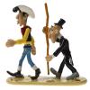 Figura de colección Pixi El enterrador midiendo Luke Lucky 5464 (2004)