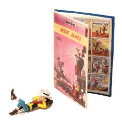 Figura de colección Pixi El cómic de Jesse James Lucky Luke 5650 (2011)