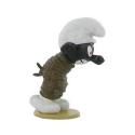 Figurine de collection Pixi Le Schtroumpf noir ficelé 6430 (2012)