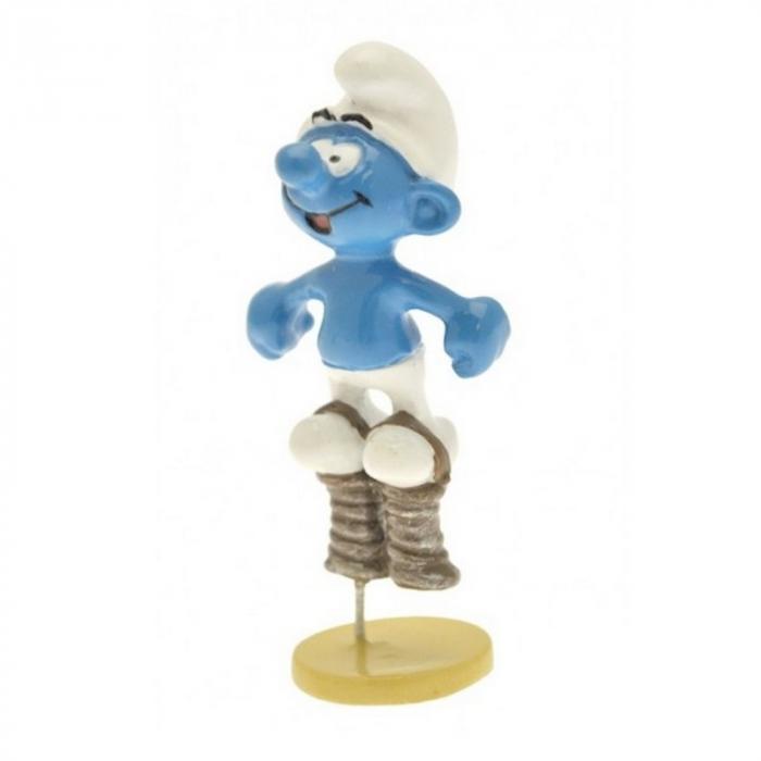 Figura de colección Pixi El Pitufo muelle 6437 (2012)
