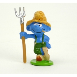 Collectible Figure Pixi The Smurf farmer 6439 (2012)