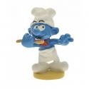 Figurine de collection Pixi Le Schtroumpf cuisinier 6440 (2012)