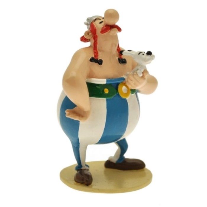 Collectible Figure Pixi Astérix Obélix carrying Dogmatix 6524 (2012)