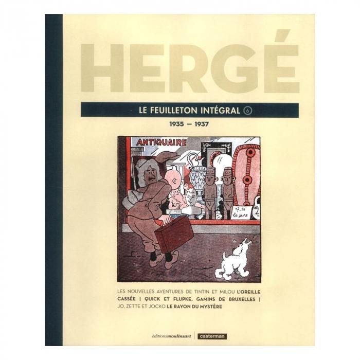 Tintín Le Feuilleton intégral Hergé Número 6 1935-1937 (8183)