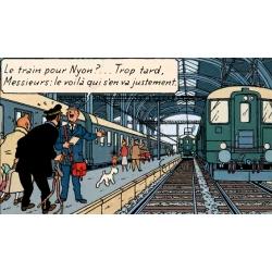 Casterman: Hergé, Tintin et les trains (2015)