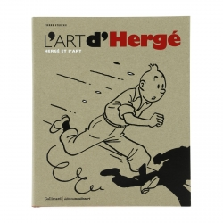 Book by Pierre Streckx L'art d'Hergé Hergé et l'art FR Gallimard 28990 (2015)