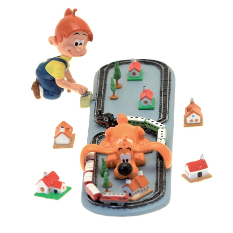 Collectible Collectible Collectible Figures Billy and Buddy with the electric train 3406 (2016) 77a157