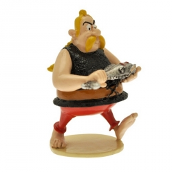 Figurine de collection Pixi Astérix Ordralfabétix Le Poissonnier 6531 (2012)