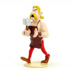 Figurine de collection Pixi Astérix Cétautomatix le forgeron 6522 (2012)