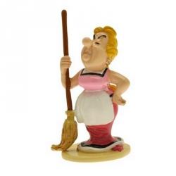 Figurine de collection Pixi Astérix Bonemine et son balais 6521 (2012)