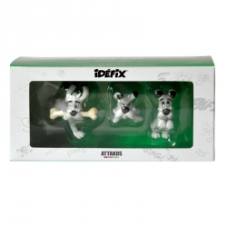 Collectible set 3 Astérix figures Attakus: Dogmatix IDBOX01 (2016)