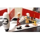 Collectible scene figures Pixi Spirou and Fantasio Z comme Zorglub 2800 (2015)