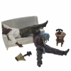 Collectible scene figures Pixi Blacksad Guarnido Canape 6200 (2007)