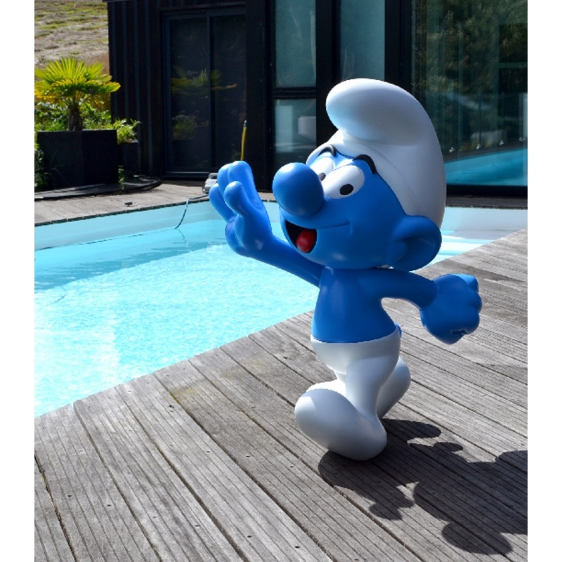 Collectible Statue By Leblon-Delienne The Smurf Life-Size