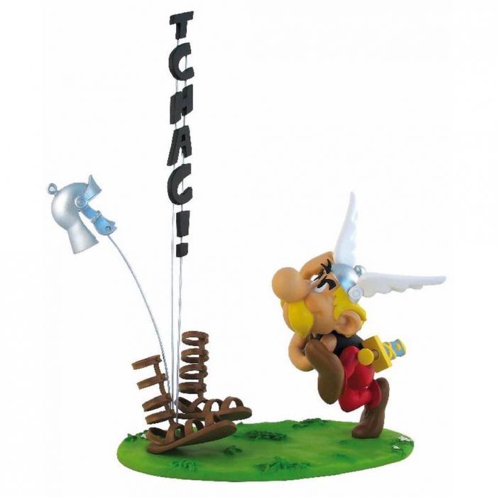 Collectible scene figure Leblon-Delienne Astérix TCHAC ! 04401 (2012)