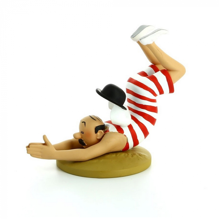 Collection figurine Tintin Thomson in swimsuit Moulinsart 42196 (2016)