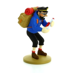 Collection figurine Tintin Haddock with an empty bottle Moulinsart 42195 (2016)