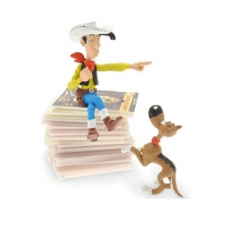 Figurine Pixi: Lucky Luke et Rantanplan Piles & Faces - 6355 (2011)