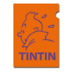 Pochette plastique A4 Les Aventures de Tintin Perfil Orange (15161)